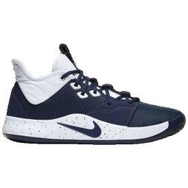 (取寄)ナイキ メンズ PG 3 Nike Men's PG 3 Midnight Navy White