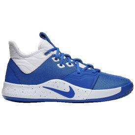 (取寄)ナイキ メンズ PG 3 Nike Men's PG 3 Game Royal White