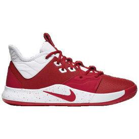 (取寄)ナイキ メンズ PG 3 Nike Men's PG 3 University Red White
