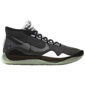 (取寄)ナイキ メンズ ズーム KD12 Nike Men's Zoom KD12 Black White Dark Grey