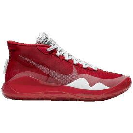 (取寄)ナイキ メンズ ズーム KD12 Nike Men's Zoom KD12 University Red White