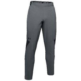 (取寄)アンダーアーマー メンズ バニッシュ ウーブン パンツ Underarmour Men's Vanish Woven Pants Pitch Grey Black