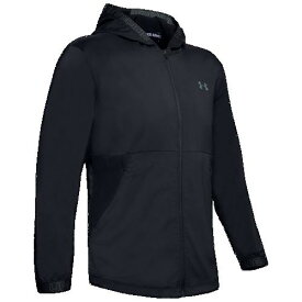 (取寄)アンダーアーマー メンズ バニッシュ ウーブン ジャケット Underarmour Men's Vanish Woven Jacket Black Pitch Grey