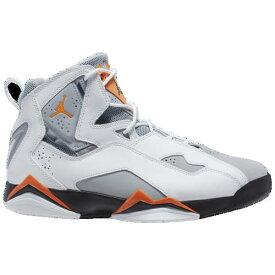 【クーポンで最大2000円OFF】(取寄)ジョーダン メンズ トゥルー フライト Jordan Men's True Flight White Total Orange Wolf Grey Black