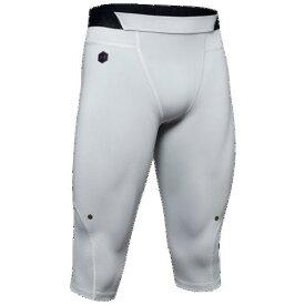 (取寄)アンダーアーマー メンズ セレクト ラッシュ ニー タイツ Underarmour Men's Select Rush Knee Tights Mod Grey Black