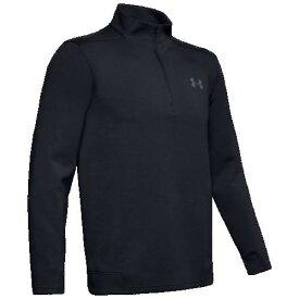 (取寄)アンダーアーマー メンズ ストーム ゴルフ 1/4 ジップ Underarmour Men's Storm Golf 1/4 Zip Black Black Pitch Gray