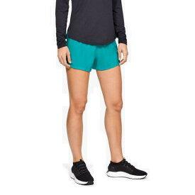 (取寄)アンダーアーマー レディース ゴー オール デイ ショーツ Underarmour Women's Go All Day Shorts Breathtaking Blue Reflective