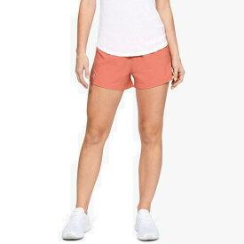 (取寄)アンダーアーマー レディース ゴー オール デイ ショーツ Underarmour Women's Go All Day Shorts Coral Dust Reflective
