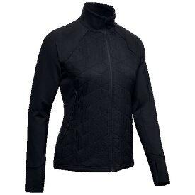 (取寄)アンダーアーマー レディース コールドギア ラン インサレーテッド ジャケット Underarmour Women's ColdGear Run Insulated Jacket Black Reflective