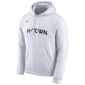 (取寄)ナイキ メンズ パーカー NBA シティ エディション フーディ ヒューストン ロケッツ Nike Men's NBA City Edition Hoodie ヒューストン ロケッツ White