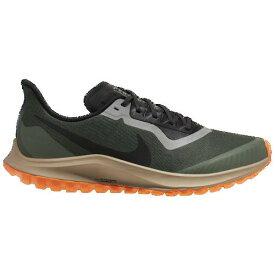 (取寄)ナイキ メンズ ランニングシューズ エア ズーム ペガサス 36 トレイル GTX Nike Men's Air Zoom Pegasus 36 Trail GTX Galactic Jade Black Juniper Fog Khaki