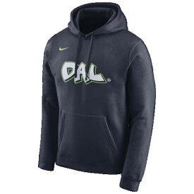 (取寄)ナイキ メンズ パーカー NBA シティ エディション フーディ ダラス マーベリックス Nike Men's NBA City Edition Hoodie ダラス マーベリックス College Navy