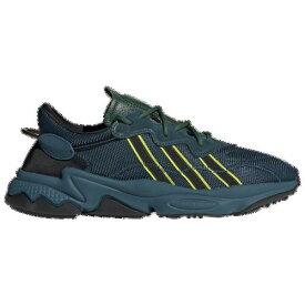 【クーポンで最大2000円OFF】(取寄)アディダス メンズ オリジナルス プシャ Tシャツ オズウィーゴ Men's adidas Originals Pusha T Ozweego Tech Mineral Dark Green Semi Solar Yellow