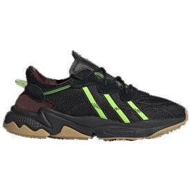 (取寄)アディダス メンズ オリジナルス プシャ Tシャツ オズウィーゴ Men's adidas Originals Pusha T Ozweego Black Mystery Brown Solar Green