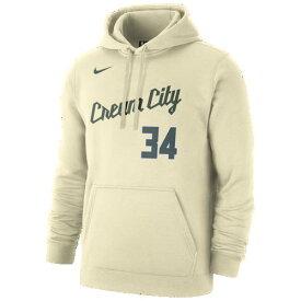 (取寄)ナイキ メンズ パーカー ヤニス アデトクンボ NBA シティ エディション ネーム アンド ナンバー フーディ ミルウォーキー バックス Nike Men's NBA City Edition Name & Number Hoodie