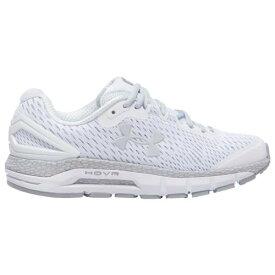 (取寄)アンダーアーマー レディース シューズ ホバー ガーディアン 2 Underarmour Women's Shoes HOVR Guardian 2 White Mod Gray Halo Gray 送料無料