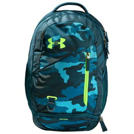 (取寄)アンダーアーマー ハッスル バックパック 4.0 Underarmour Hustle Backpack 4.0 Teal Vibe Tandem Teal Lime Light