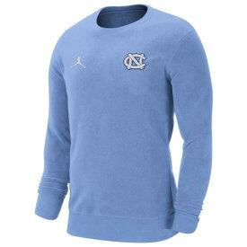 (取寄)ジョーダン メンズ カレッジ J クルー ネック フリース ノース カロライナ ター ヒールズ Jordan Men's College J Crew Neck Fleece ノース カロライナ ター ヒールズ Valor Blue