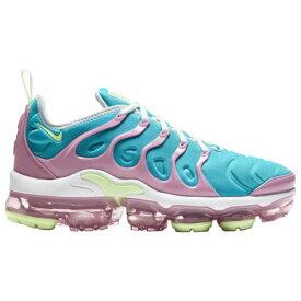 【クーポンで最大2000円OFF】(取寄)ナイキ レディース シューズ エア ヴェイパーマックス プラス Nike Women's Shoes Air Vapormax Plus White Barely Volt Platinum Tint