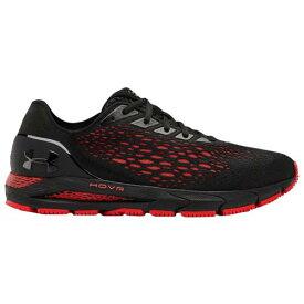 (取寄)アンダーアーマー メンズ シューズ ホバー ソニック 3 Underarmour Men's Shoes Hovr Sonic 3 Black Versa Red Black