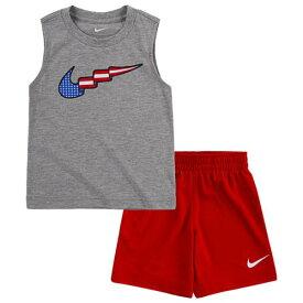 (取寄)ナイキ ボーイズ スウッシュ プレイ ショート - ボーイズ トドラー Nike Boys Swoosh Play Short - Boys' Toddler University Red