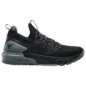 (取寄)アンダーアーマー メンズ シューズ プロジェクト ロック 3 UNDER ARMOUR Men's Shoes Project Rock 3 Black Pitch Grey Black