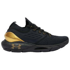 (取寄)アンダーアーマー レディース シューズ ホバー ファントム 2 UNDER ARMOUR Women's Shoes Hovr Phantom 2 Black Black Metallic Gold Luster