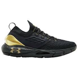 (取寄)アンダーアーマー メンズ シューズ ホバー ファントム 2 UNDER ARMOUR Men's Shoes HOVR Phantom 2 Black Black Metallic Gold Luster
