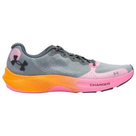 (取寄)アンダーアーマー メンズ シューズ チャージド パルス UNDER ARMOUR Men's Shoes Charged Pulse Pitch Gray Lunar Pop Pitch Gray