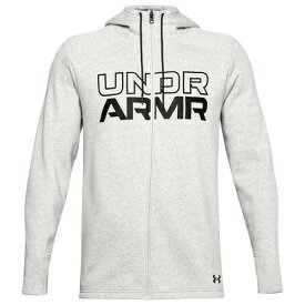 (取寄)アンダーアーマー メンズ ベースライン フリース F/Z フーディ UNDER ARMOUR Men's Baseline Fleece F/Z Hoodie Grey