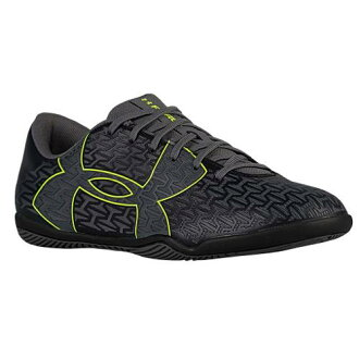 under armour indoor soccer shoes. (order) under armour futsal shoes men zouk latch fitting force 2.0 id under armour men\u0027s clutchfit black graphite hi vis yellow indoor soccer m