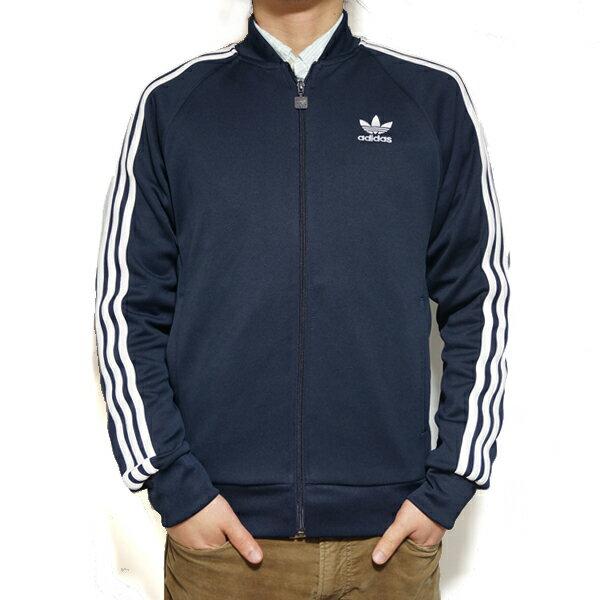 アディダス オリジナルス メンズ スーパースター トラックジャケット adidas originals Men's Superstar Track Jacket Legend Ink BK5919