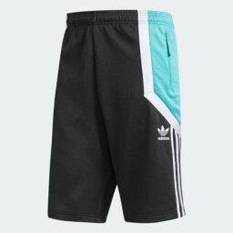 (索取)愛迪達原始物人新星短褲adidas originals Mens Nova Shorts Carbon/Shock Green