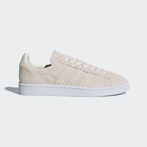 (取寄)アディダス オリジナルス メンズ キャンパス ステッチ アンド ターン シューズ adidas originals Men's Campus Stitch and Turn Shoes Chalk White / Chalk White / Running White