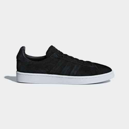 (取寄)アディダス オリジナルス メンズ キャンパス ステッチ アンド ターン シューズ adidas originals Men's Campus Stitch and Turn Shoes Core Black / Core Black / Running White
