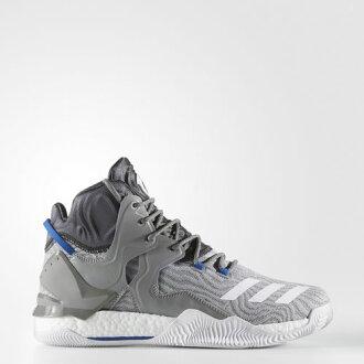 (취기) 아디다스멘즈 D로즈 7 프라임 니트 농구 슈즈 adidas Men's D Rose 7 Primeknit Shoes Charcoal Solid Grey / Running White Ftw / Solid Grey