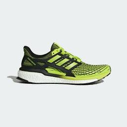 (索取)愛迪達人能源,能源推進跑步鞋adidas Mens Energy Boost Shoes Solar Slime/Solar Slime/Core Black