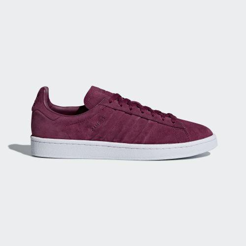(取寄)アディダス オリジナルス メンズ キャンパス ステッチ アンド ターン シューズ adidas originals Men's Campus Stitch and Turn Shoes Mystery Ruby / Mystery Ruby / Running White