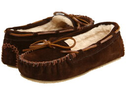 (得到 CDN) 迷妮唐卡婦女嘉莉拖鞋迷妮唐卡婦女效法拖鞋巧克力麂皮絨