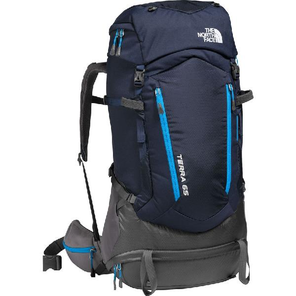 (取寄)ノースフェイス テラ 65 バックパック The North Face Men's Terra 65 Backpack Urban Navy/Hyper Blue