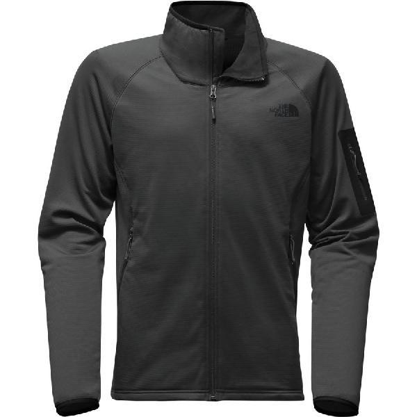 (取寄)ノースフェイス メンズ ボアード フリース ジャケット The North Face Men's Borod Fleece Jacket Asphalt Grey/Tnf Black