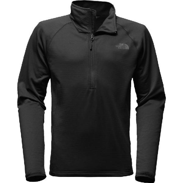 (取寄)ノースフェイス メンズ ボアード 1/4-Zip フリース ジャケット The North Face Men's Borod 1/4-Zip Fleece Jacket Tnf Black