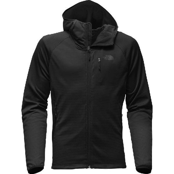 (取寄)ノースフェイス メンズ ボアード フーデッド フリース ジャケット The North Face Men's Borod Hooded Fleece Jacket Tnf Black/Tnf Black