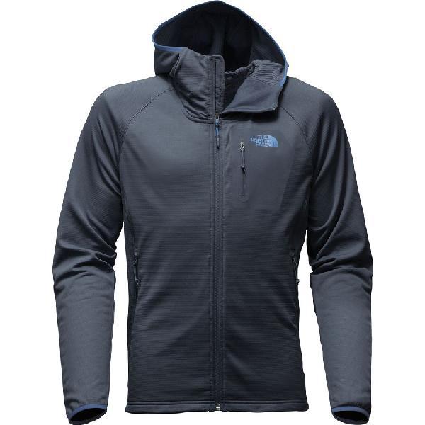 (取寄)ノースフェイス メンズ ボアード フーデッド フリース ジャケット The North Face Men's Borod Hooded Fleece Jacket Urban Navy/Urban Navy
