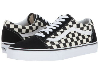 (order) Vans (vans) sneakers old school unisex men gap Dis Vans Unisex Old  Skool (Primary Check) Black White b66cb6eac
