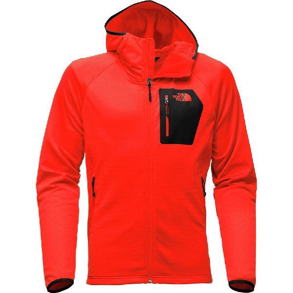 (取寄)ノースフェイス メンズ ボアード フーデッド フリース ジャケット The North Face Men's Borod Hooded Fleece Jacket Centennial Red
