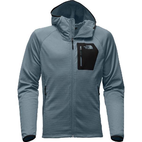 (取寄)ノースフェイス メンズ ボアード フーデッド フリース ジャケット The North Face Men's Borod Hooded Fleece Jacket Conquer Blue