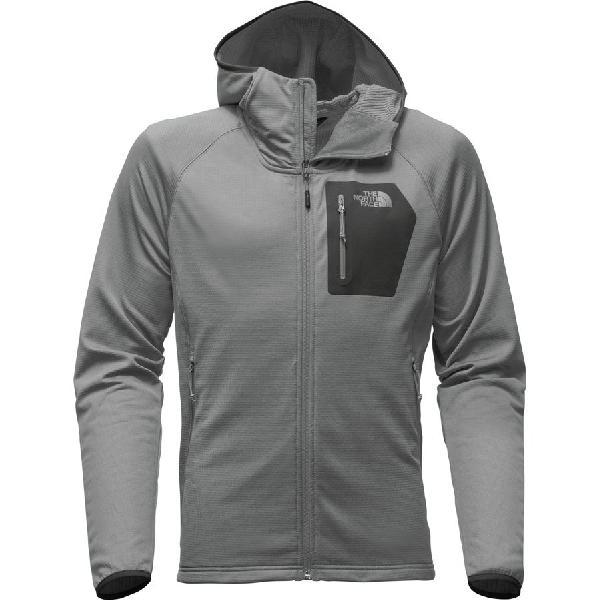 (取寄)ノースフェイス メンズ ボアード フーデッド フリース ジャケット The North Face Men's Borod Hooded Fleece Jacket Monument Grey