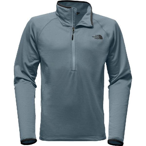 (取寄)ノースフェイス メンズ ボアード 1/4-Zip フリース ジャケット The North Face Men's Borod 1/4-Zip Fleece Jacket Conquer Blue
