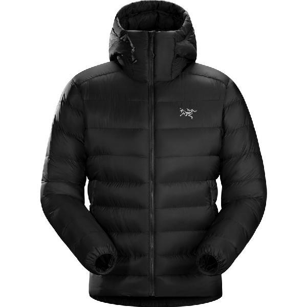 【クーポンで最大2000円OFF】(取寄)アークテリクス メンズ セリウム SV フーデッド ダウン ジャケット Arc'teryx Men's Cerium SV Hooded Down Jacket Black